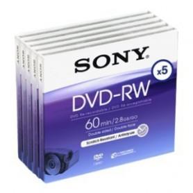 DVD MINI REGISTRABILE DVD-RW 2.8GB 60MINUTI 8CM