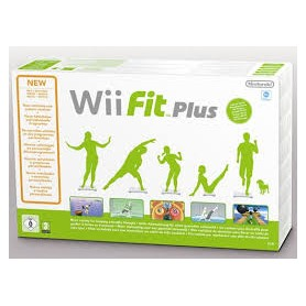 WII FIT PLUS + WII BALANCE BOARD