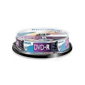 DVD MASTERIZZABILE DVD-R 4.7GB 120MINUTI 10PZ