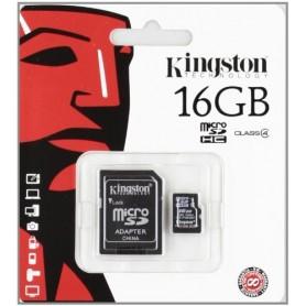 MEMORY SD CARD DA 16GB DC CLASSE 4 CON ADATTATORE