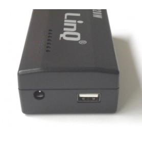 ALIMENTATORE PER NOTEBOOK 160W PORTA USB E PLUG HP