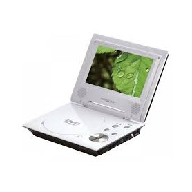 LETTORE DVD PORTATILE 7 USB 16:9 MP3/MP4 SD LCD
