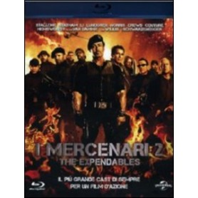 I MERCENARI 2 THE EXPENDABLES BLU-RAY