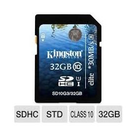 MEMORY SD CARD DA 32GB CLASSE 10 ELITE HD VIDEO