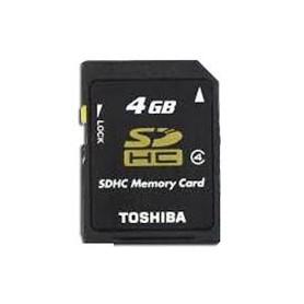 MEMORY SD CARD DA 4GB CLASSE 4
