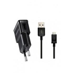 CARICATORE DA RETE USB+CAVO 1000MAH