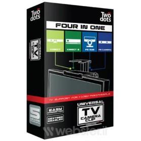 SUPPORTO WEBCAM UNIVERSALE PER SMART TV CONSOLE