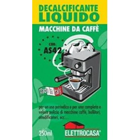 DECALCIFICANTE PER MACCHINA DA CAFFÈ LIQUIDO
