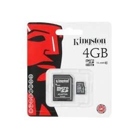 MEMORY MICRO SD DA 4GB CLASSE 10 CON ADATTATORE