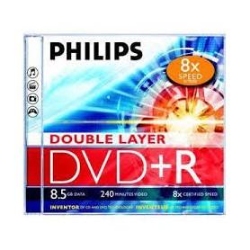 DVD MASTERIZZABILE DVD+R 8.5GB 240MINUTI 8X