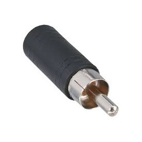 ADATTATORE AUDIO PRESA JACK DA 3.5MM A SPINA RCA