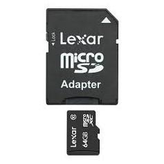 MEMORY MICRO SD DA 64GB HC CLASSE 10 CON ADATTATOR