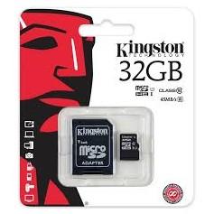 MEMORY MICRO SD DA 32GB HC CLASSE 10 CON ADATTATOR
