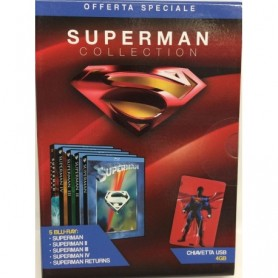 COFANETTO SUPERMAN COLLECTION BLURAY+PENDRAY