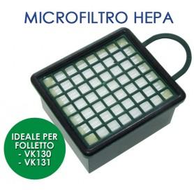 FILTRO PER ASPIRAPOLVERE FOLLETTO VK130/131 MICROF