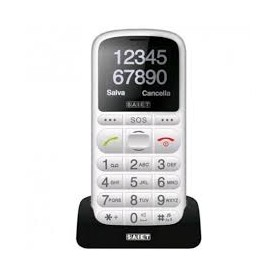 CELLULARE GSM DUAL BRAND TASTI GRANDI SOS TORCIA