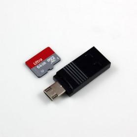 LETTORE ESTERNO MICRO-SD MICRO-SD READER MAX 128GB