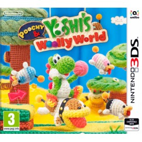 POOCHY YOSHI WOOLLY WORLD PER NINTENDO 3DS