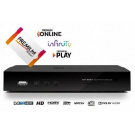 DECODER DIGITALE TERRESTRE DVB-T2 WIFI INTEGRATO