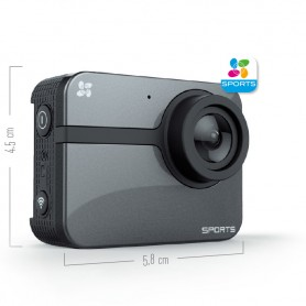 ACTION CAM 16.0MP BLUETOOTH WIFI