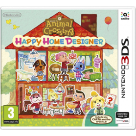 ANIMAL CROSSING HAPPY HOME DESIGNER PER 3DS