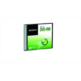 DVD MASTERIZZABILE DVD+RW 4.7GB 120MINUTI 4X SLIM