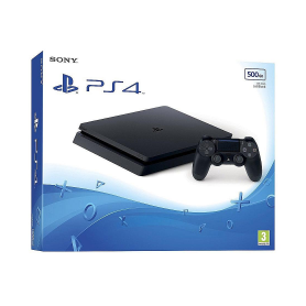 CONSOLE PS4 500GB BLACK