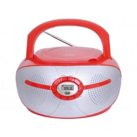 RADIO PORTATILE FM MP3 USB AUX-IN BLUETOOTH ROSSA