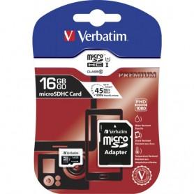 MEMORY CARD SDHC 16GB CLASSE 10 CON ADATTATORE