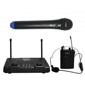 RADIOMICROFONO VHF WIRELESS CON MICROFONO