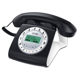 TELEFONO FISSO SIRIO CLASSICO COLOR BLACK