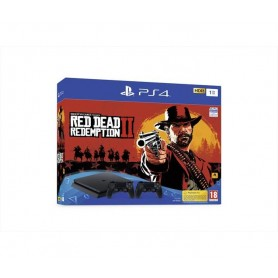 CONSOLE PS4 1TB + 2JOYPAD + RED DEAD REDEMPTION 2