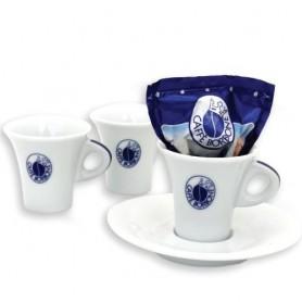 TAZZE BORBONE DA CAFFÈ CONFEZIONE DA 6PZ