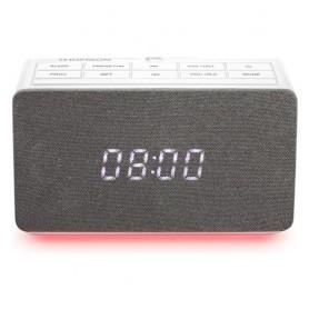 RADIOSVEGLIA FM CON PROIETTORE ORA USB MP3 WHITE