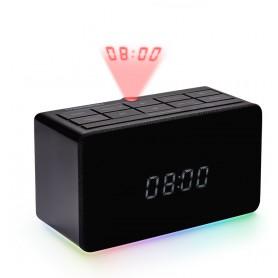 RADIOSVEGLIA FM CON PROIETTORE ORA USB MP3 BLACK