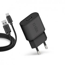 CARICATORE DA RETE CON MICRO USB DA 1000MHA