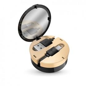 CAVO DATI USB 2.0 A MCRO USB CON CUSTODIA A SPECCH