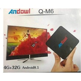 ANDROID TV BOX RAM 4GB ROM 32GB VERS 8.1
