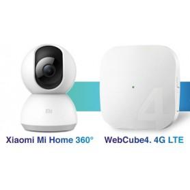 BUNDLE WEBCUBE 4 + VIDEOCAM 360° XIAOMI H3G