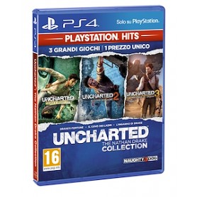 UNCHARTED COLLECTION PLAYSTATION HITS PER PS4