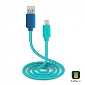 CAVO DATI USB 2.0 A MICRO USB 1,0 BLU