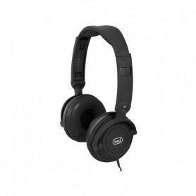 CUFFIA PADIGLIONE + MICROFONO PER MP3 HIFI BLACK