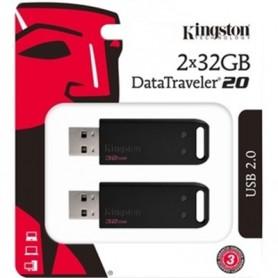 PEN DRIVE 32GB 2 PEZZI USB 2.0