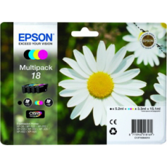 CARTUCCIA ORIGINALE EPSON 18 MULTIPACK
