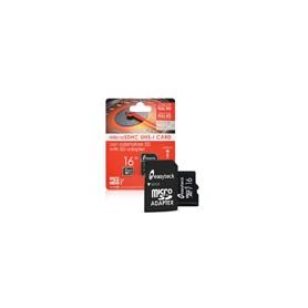 MEMORY MICRO SD DA 16GB CLASSE 10 CON ADATTATORE