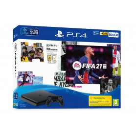 PLAYSTATION 4 500GB + FIFA2021 + VOUCHER
