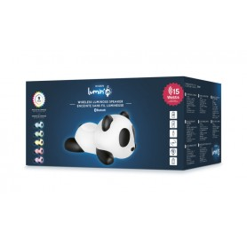 SPEAKER BLUETOOTH CON LED MULTI COLOR PANDA2