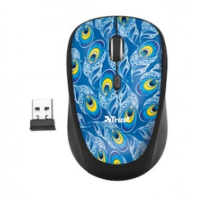 MOUSE WIRELESS PEACOCK