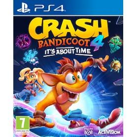 CRASH BANDICOOT ITS ABOUT TIME PER PS4 ITA