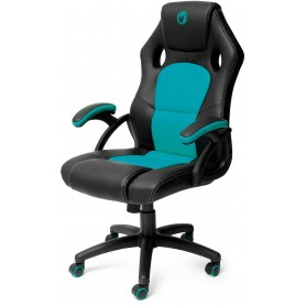 Sedia Gaming Color Black And Light Blue